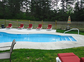 adirondack vacation home with pool